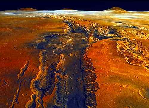 Mars the Red Planet Canyons - Pics about space